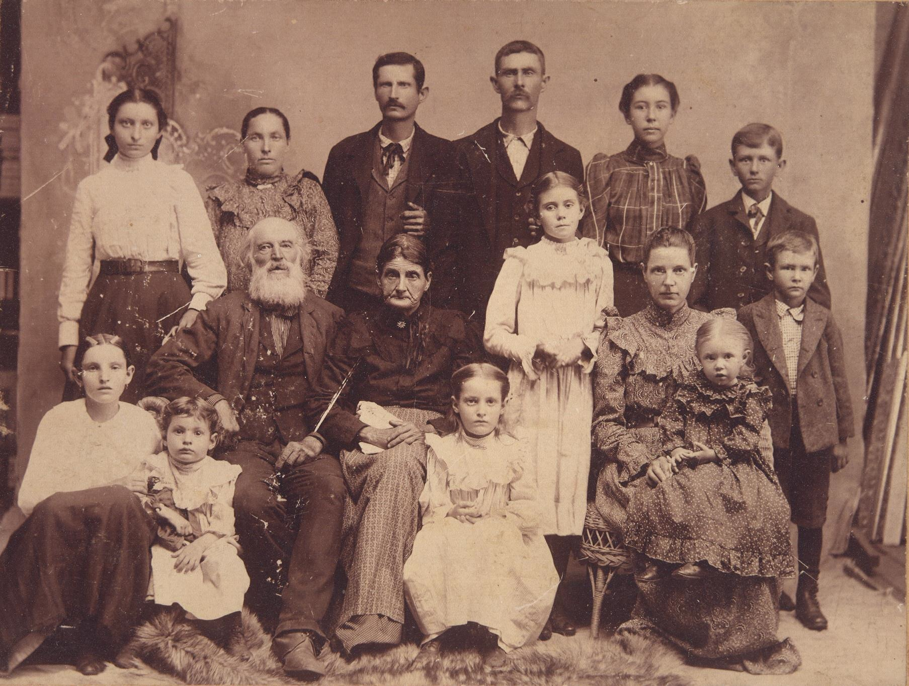 J Cole And His Family William Henry Wells &a...